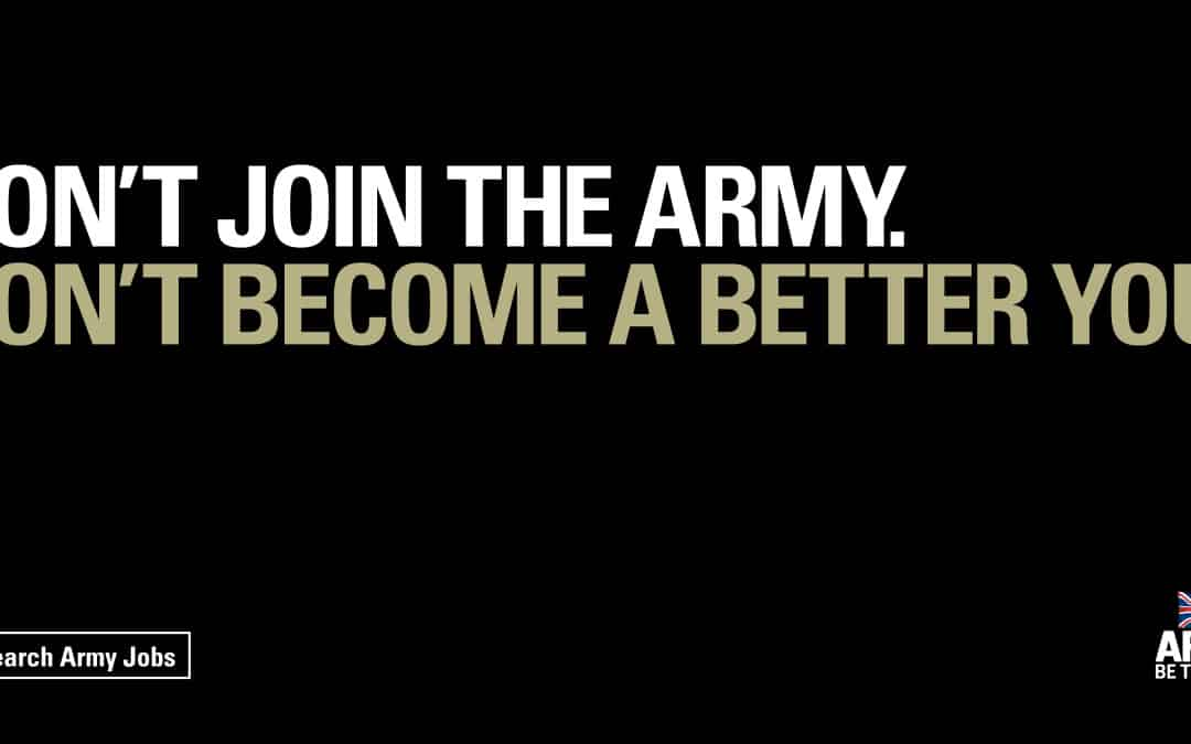 Don't be like the Army: why reverse psychology marketing can be a risky strategy